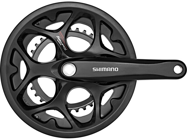 Shimano Tourney FC-A070 Krank 7/8 speed KSR, black